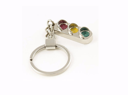 Traffic Light Key Ring