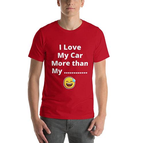 Short-Sleeve Unisex T-Shirt - 'Love My Car'