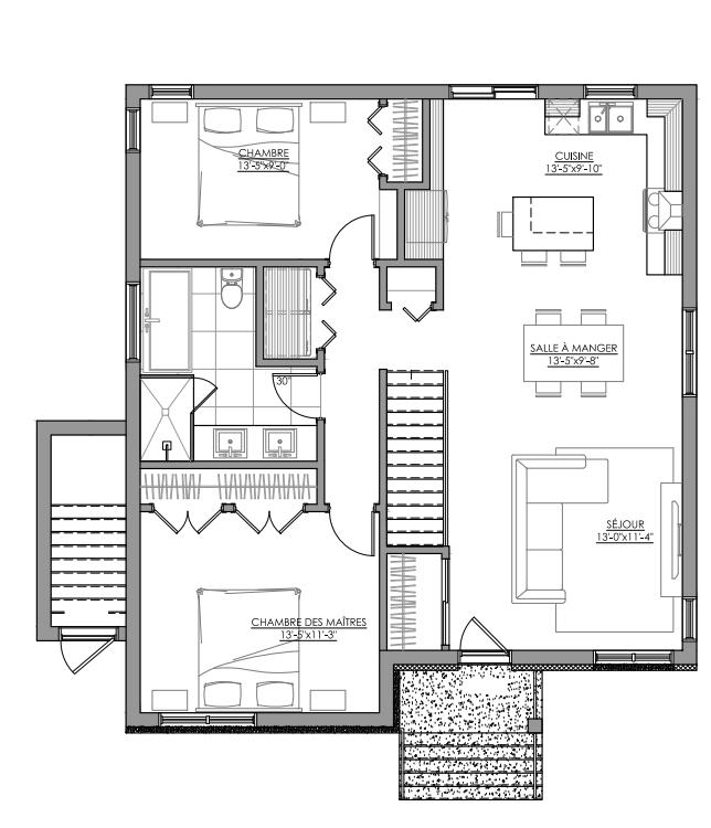 Maison neuve Saint-Eustache