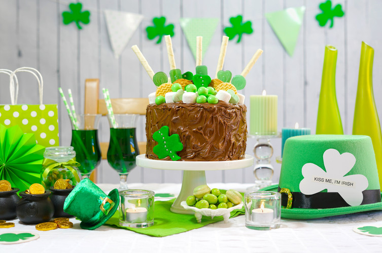 Happy St Patricks Day, March 17, green a