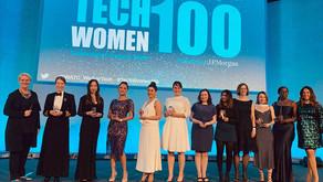 Anahita Mahmoudi wins TechWomen100 award