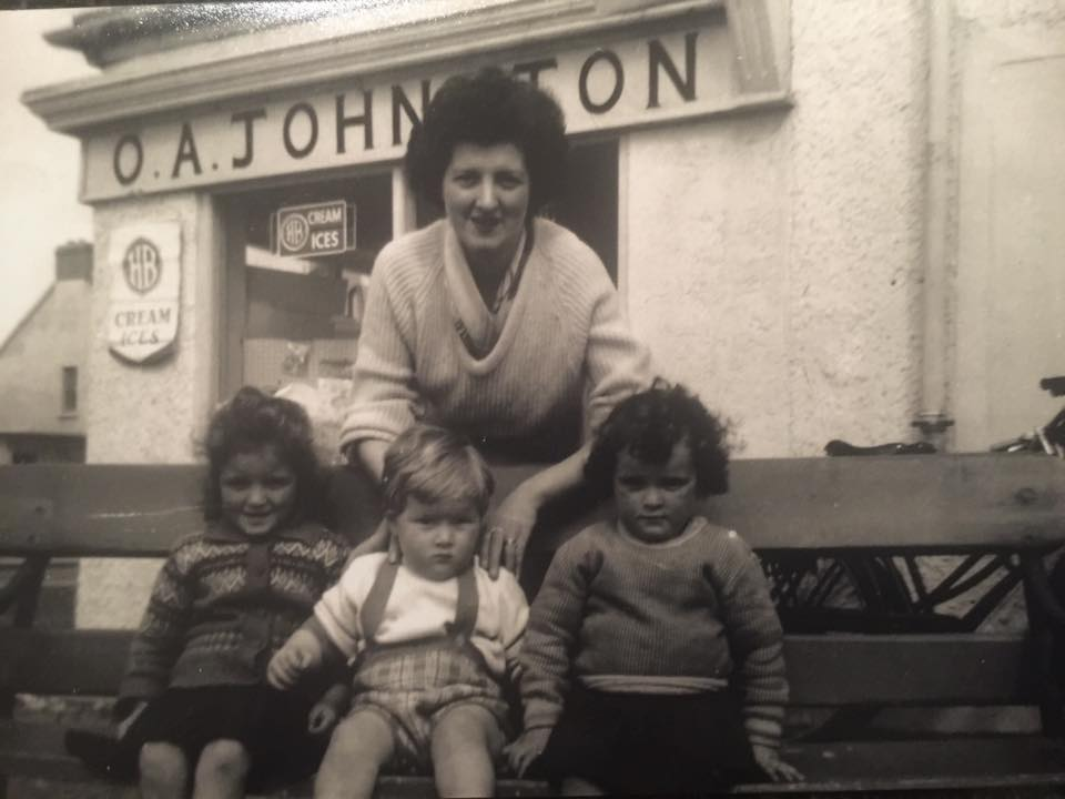 Mammy Johnston & her grandchildren