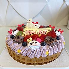 ワッフルケーキオーダー