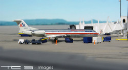 American Airlines Fokker 100