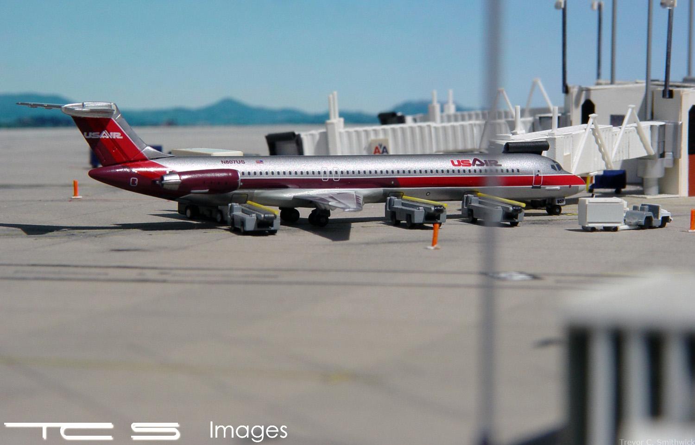 US Air MD-80