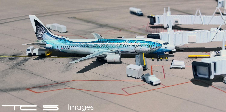 Alaska Airlines 737-400