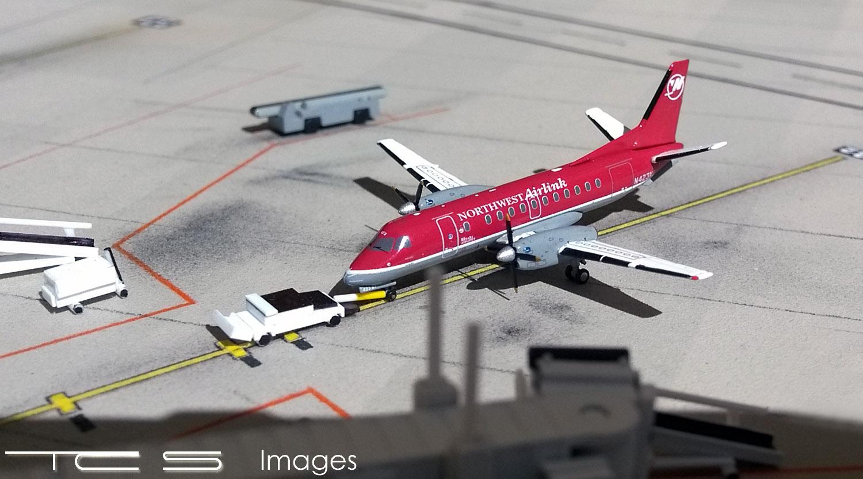 Northwest Airlink SAAB 340B