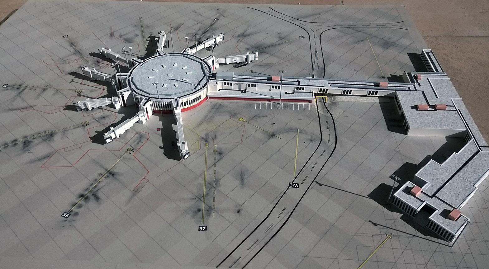 KSAT Terminal 2 - First Stage