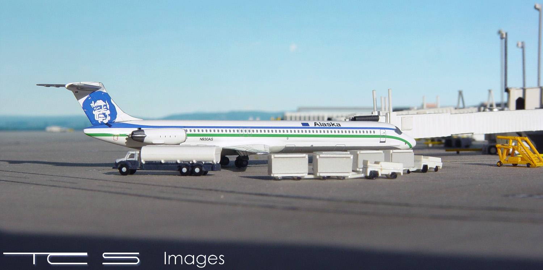 Alaska Airlines MD-83