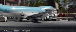 Korean Air 747-200