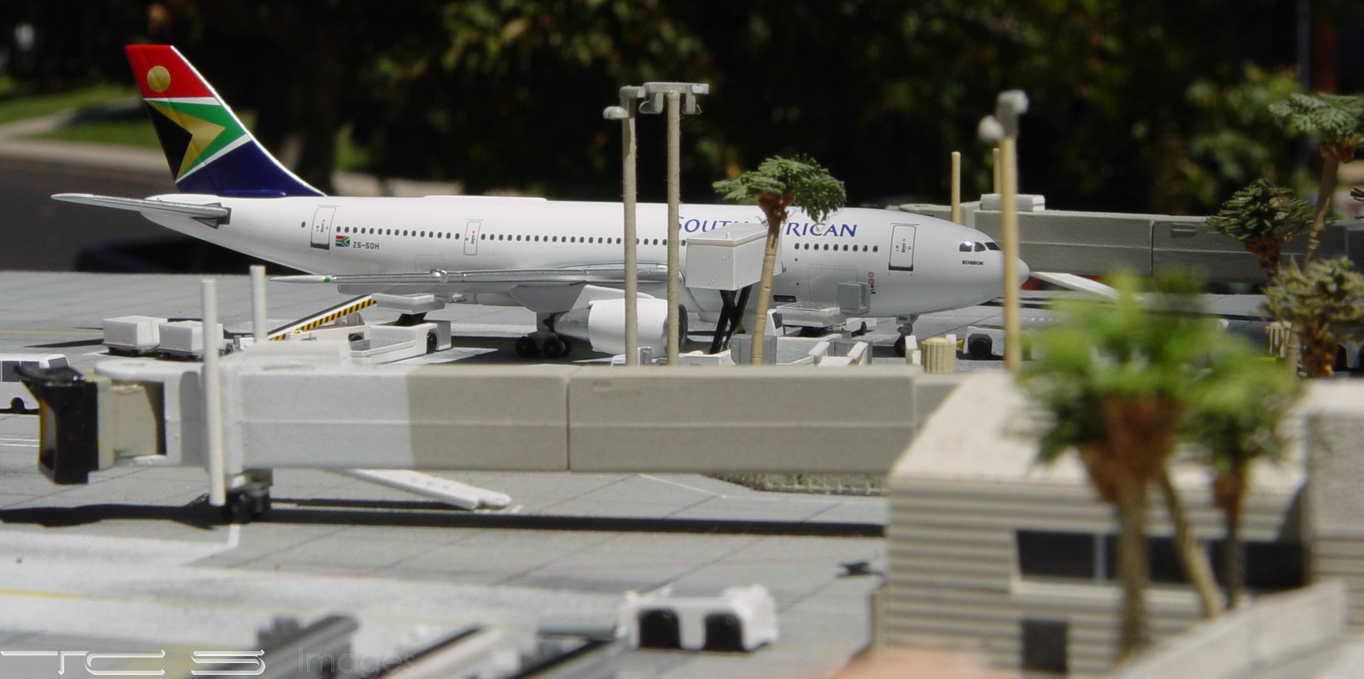 South African Airways A300B4-203