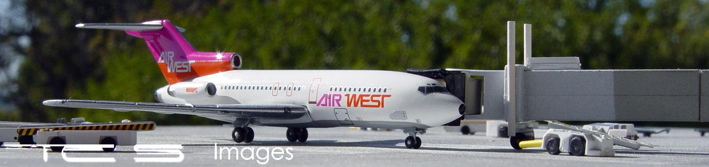 Air West 727-100