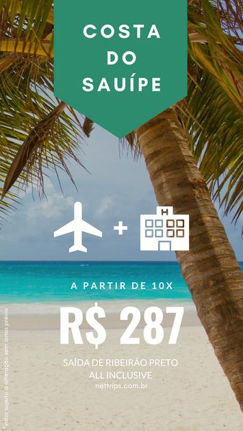 OFERTA - Costa do Sauípe (All Inclusive) em 10x sem juros!