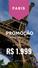 Oferta: Paris por R$ 1.999