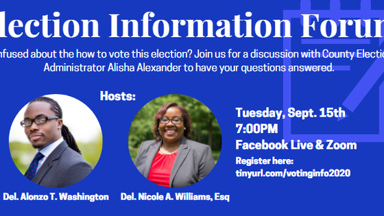 Election Information Forum; Phone Calls into PA