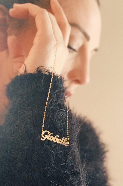 "Exclusive 14k gold ""Globette"" necklace"