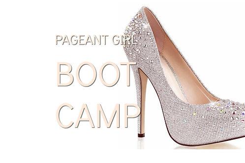 WORKSHOP - Pageant Girl Boot Camp Deposit