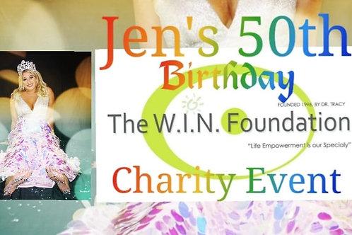 Jenni's 50th Birthday & Charity Event!
