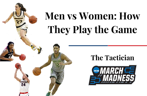 Men vs Women: How They Play the Game
