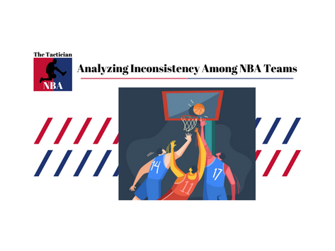 Which NBA Team is the most inconsistent?