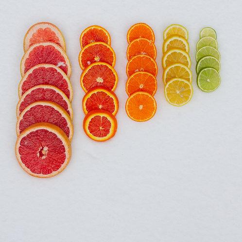 Citrus In Snowdrift