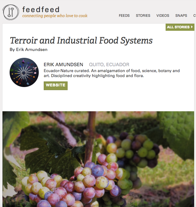 Terroir and Industrial food systems.