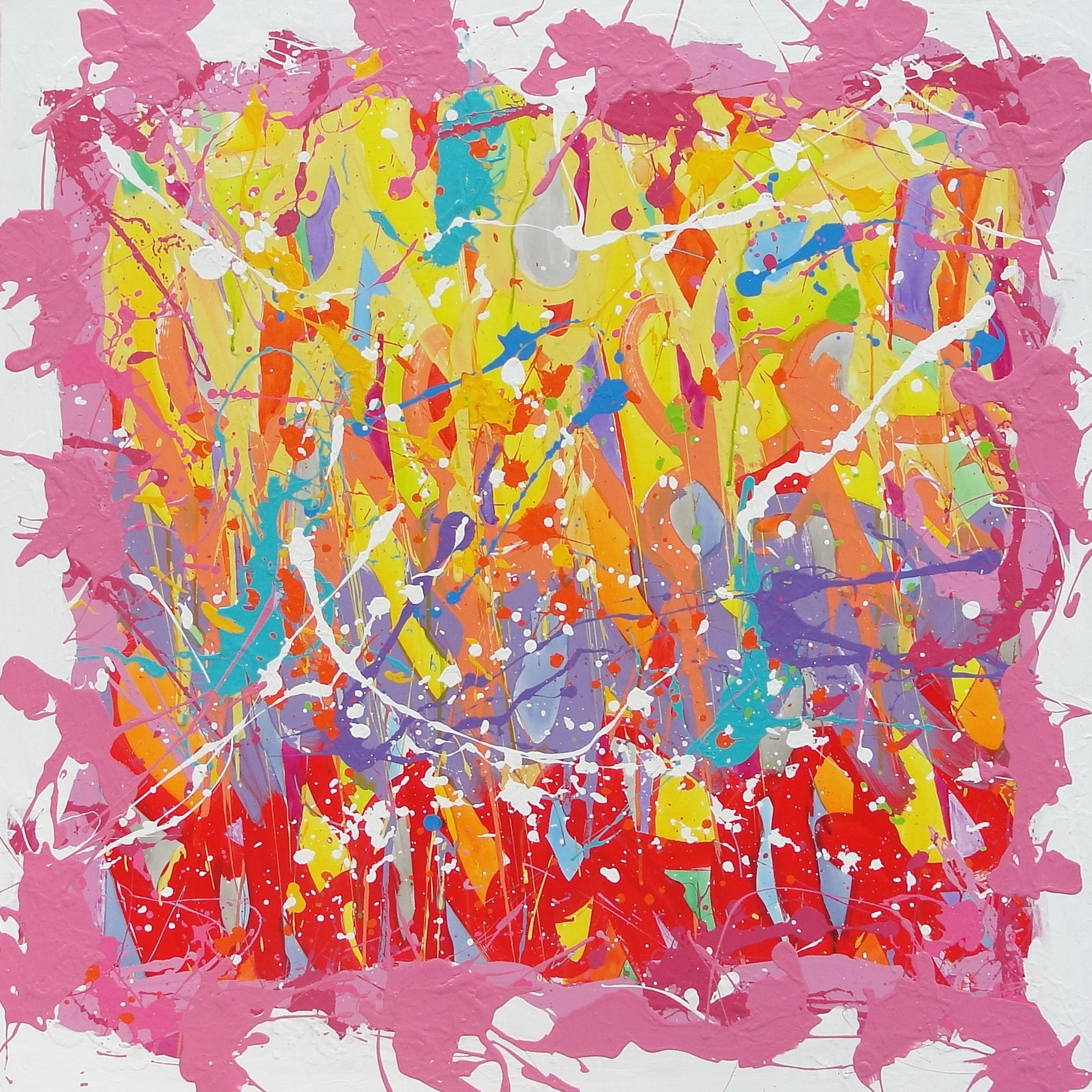 JONONE Beat Downs 97 x 97 cm