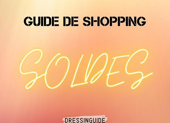 Guide de shopping + capsule: SOLDES