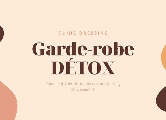 Guide: Garde-robe détox