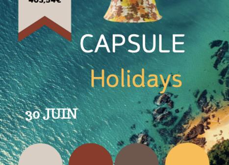 Capsule HOLIDAYS
