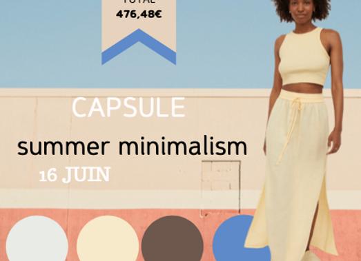 Capsule SUMMER MINIMALISM