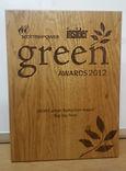 Carbon reduction award winner 2012