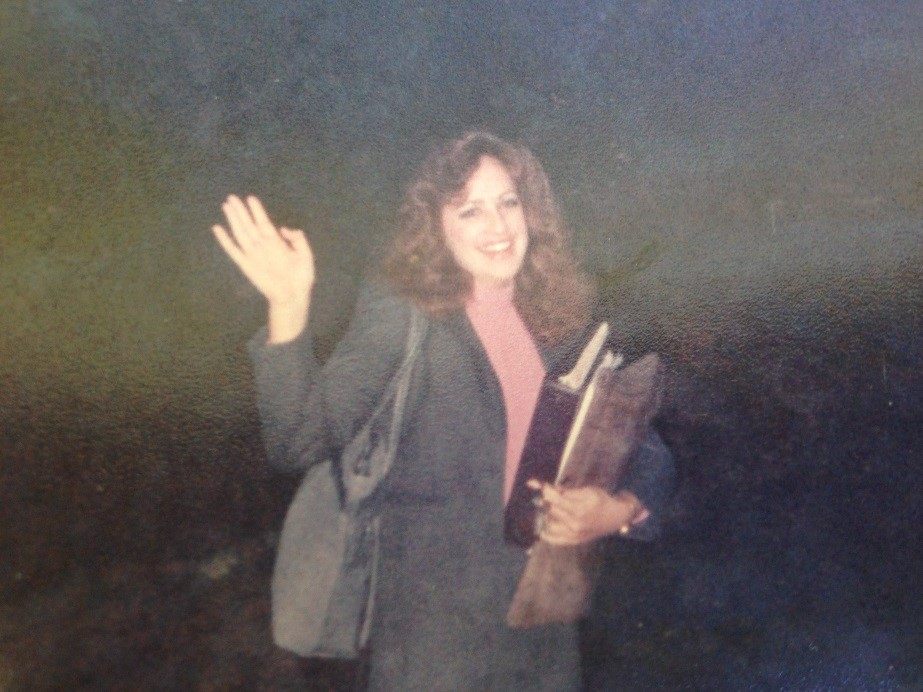 First day of teaching, 1985