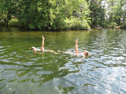 Ballet legs in New Hampshire