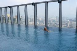 Hong Kong infinity pool