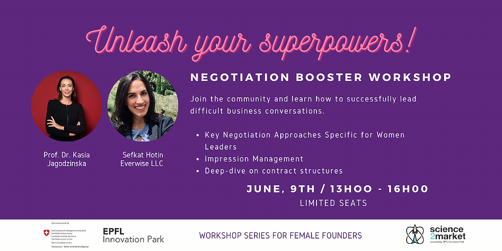 Unleash Your Superpowers - Workshop for Female Founders