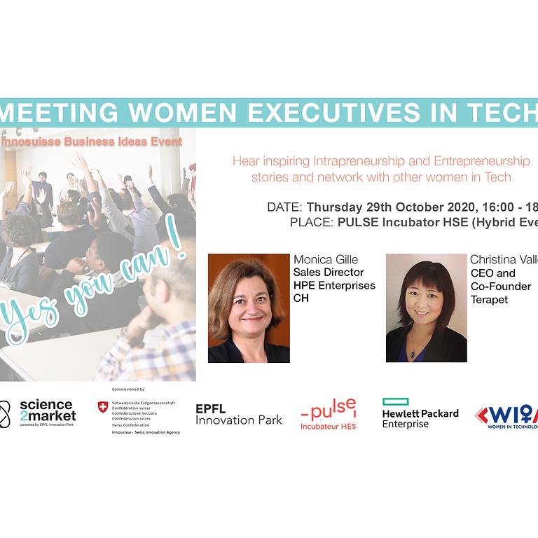 Yes You Can! Meet Women Executives in Tech