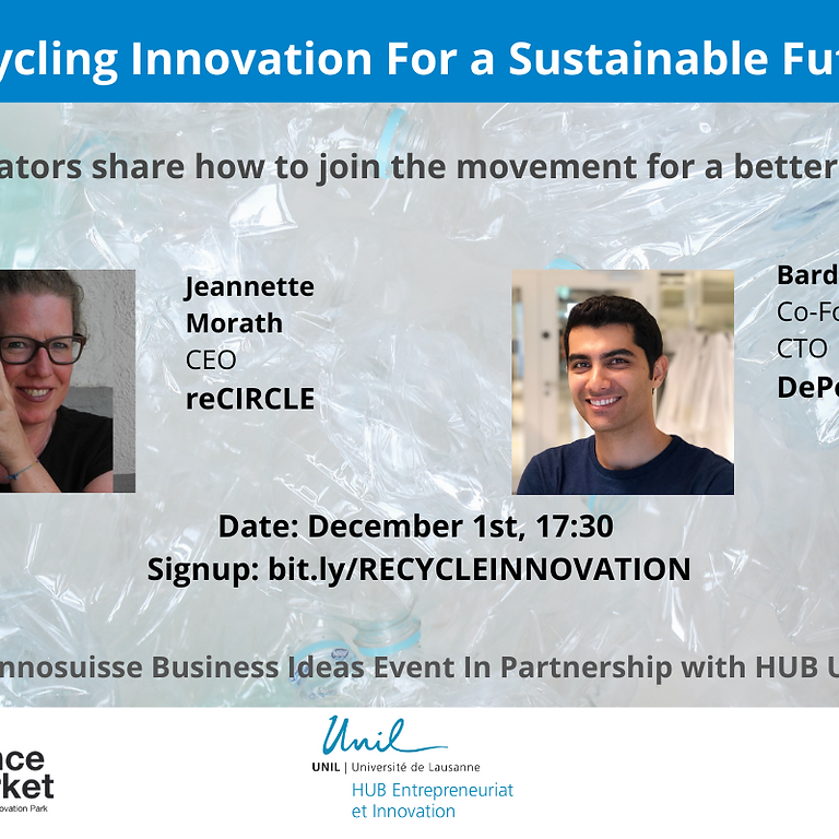 Recycling Innovation for a Sustainable Future