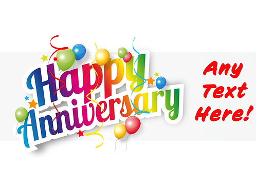 Happy Anniversary (with white background)