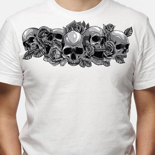 Skulls and Roses (Big and Tall)