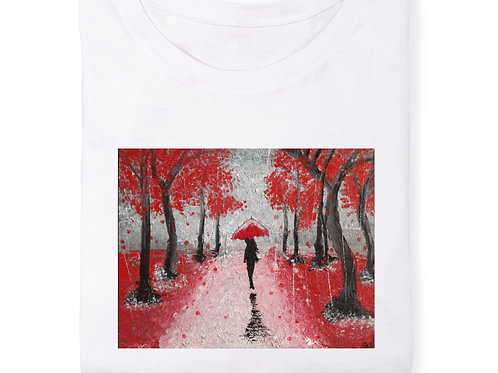 Greenlee Grace Sarver-Stroll in the Rain (original print)