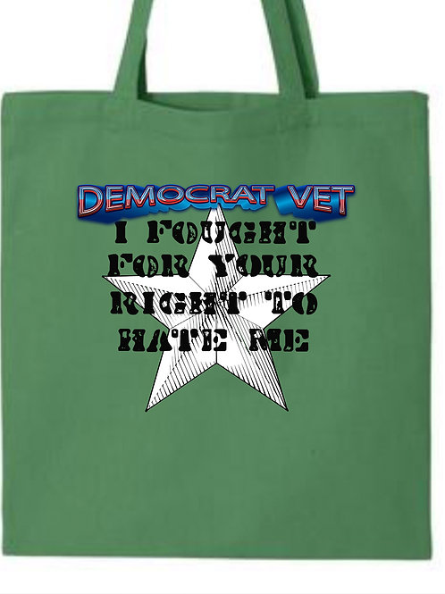 AMY- DEMOCRAT VET-I FOUGHT FOR YOUR RIGHT TO HATE ME