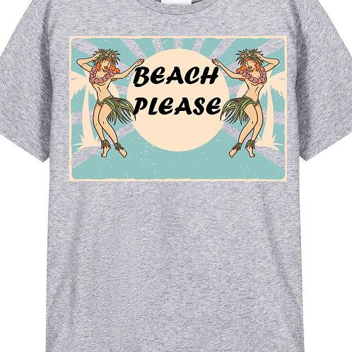 BEACH PLEASE (Big and Tall)