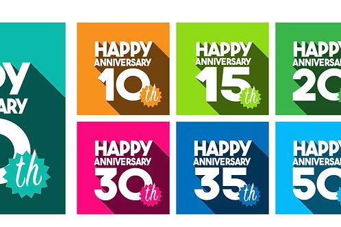 Happy Anniversary (various templates)