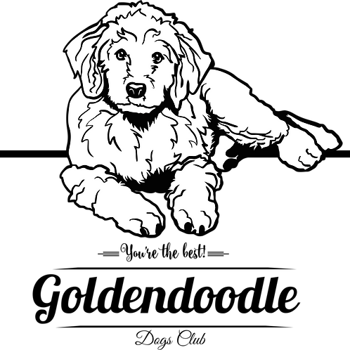 """Goldendoodle """"You're The Best"""" Dog Club"""