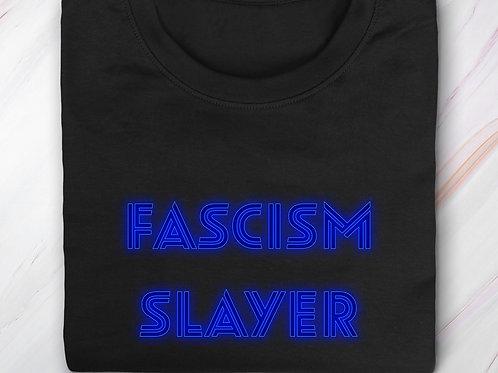 AMY (BLUE AF)  FASCISM SLAYER (Big and Tall)