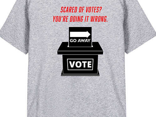 Amy (BLUE AF) Scared of Votes?   You Are Doing It Wrong.