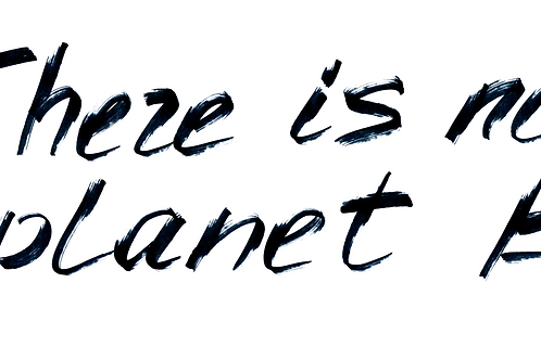There Is No Planet B  (Big and Tall)