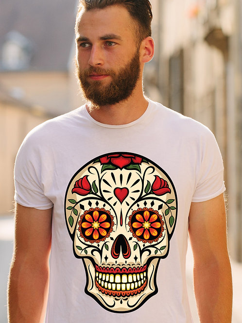 Day of the Dead Skull (Big and Tall)