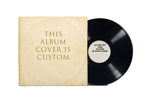 Customizable Record and Sleeve